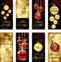 Creative Decorated Christmas Banner Pack