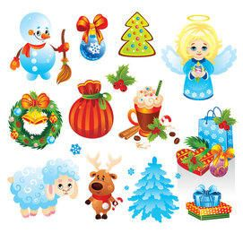 Funky Christmas Stuff & Ornament Pack