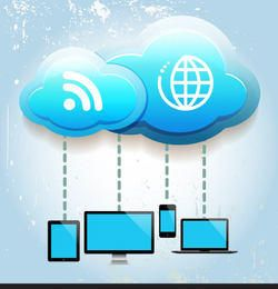 Cloud Computing Concept Info-graph