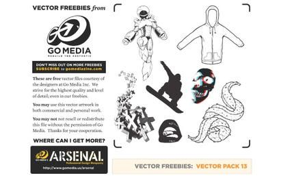 Go Media's Vector Pack 13