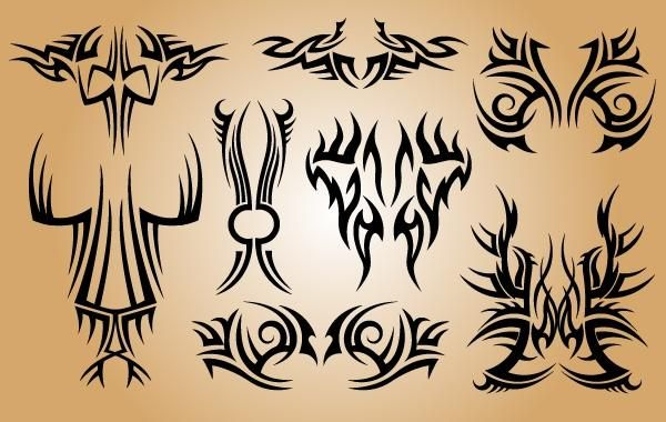 Stylish Tribal Tattoo Pack