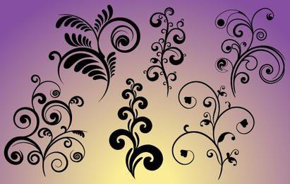 Conjunto de Curvas Flourish & Curls