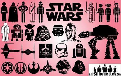 Paquete de iconos del día de Starwars