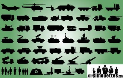 Military Technique Icon Pack