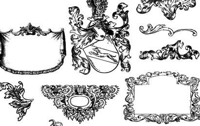 Heraldry and Flourishes