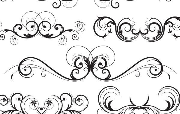ornate vector swirls vector download rh vexels com ornate vector border ornate vector swirls