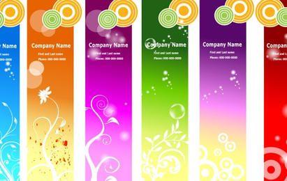 Anuncios Banners Plantillas Floral Geometrico