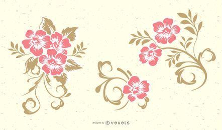 Wirbel Floral