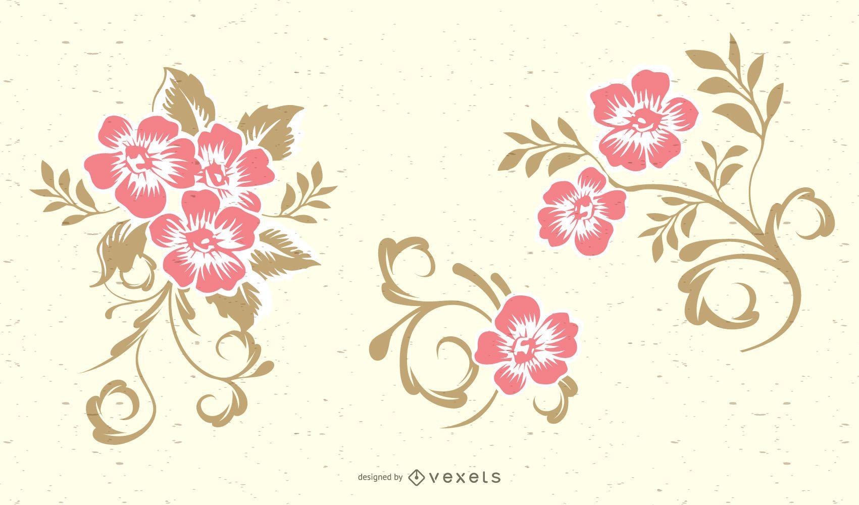 Swirl Floral