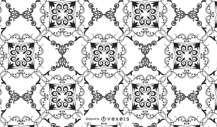 Damask Pattern Vector Vector Download Stunning Damask Pattern