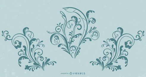 Vector libre de Flourish