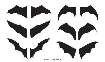 Conjunto de vetores de morcego