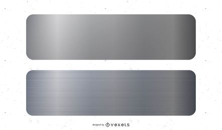 Metall Banner Vektor