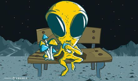Personagem alienígena 1