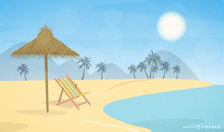 Free Summer Vector Stock