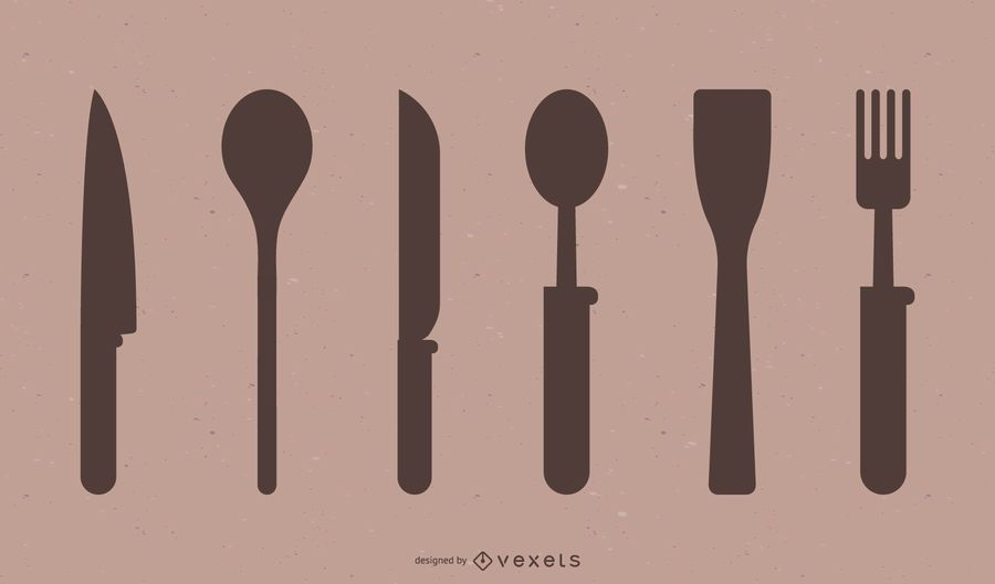 Cutlery Silhouette Collection