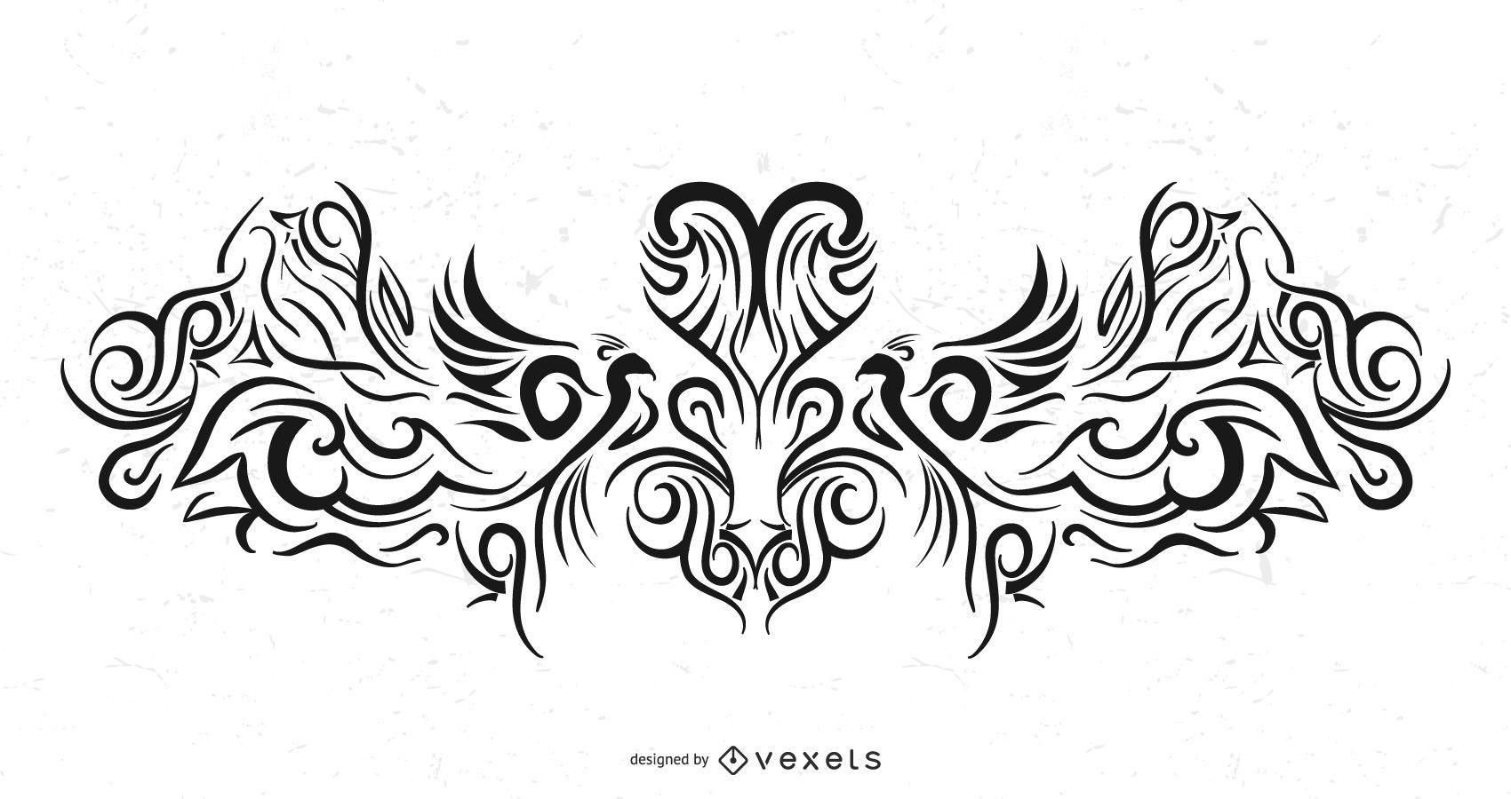 Diseño De Tatuaje Tribal