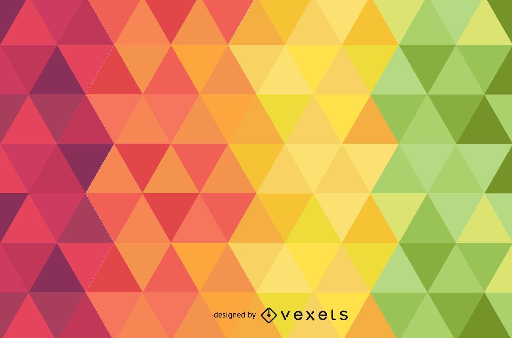Fondo colorido del vector del diamante