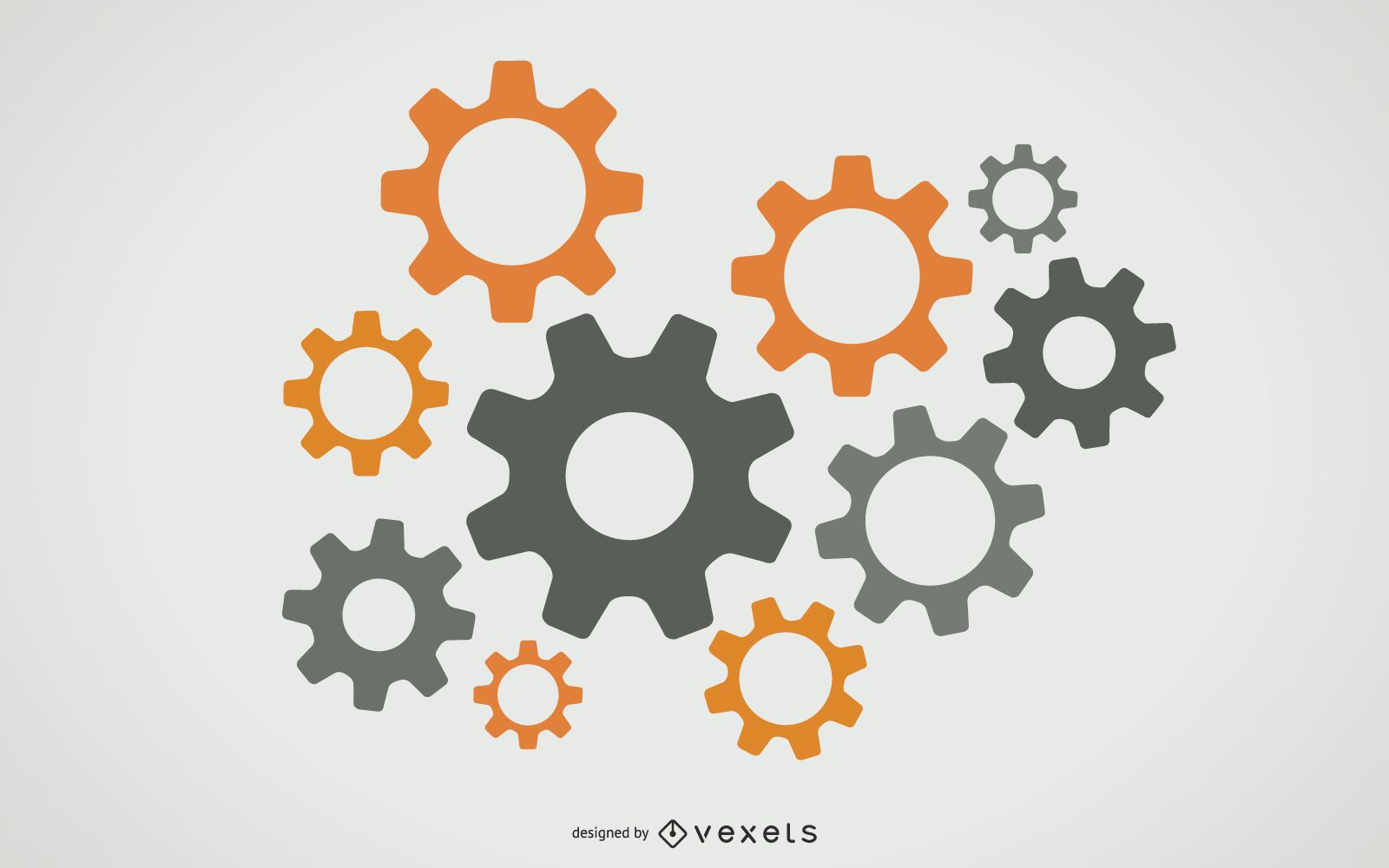 Free Vector Gears Graphic