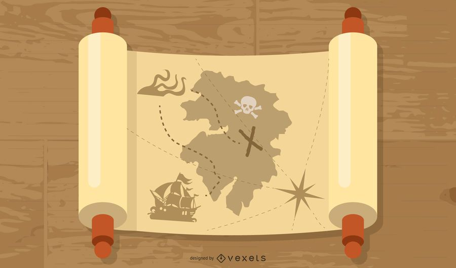 Free Ancient Mythology Map Vector