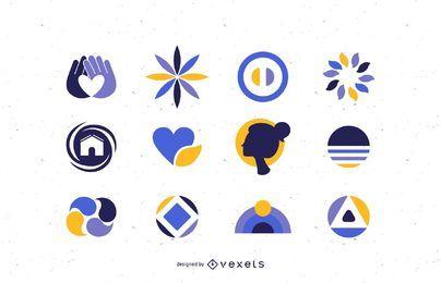 Gráficos de estoque de vetor de logotipo doze