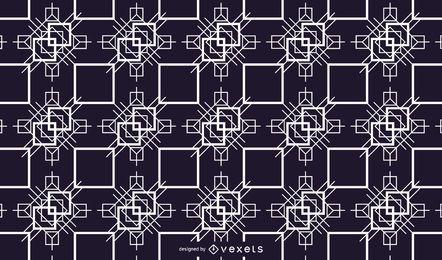 Vector livre abstrato mosaico Design ilustração