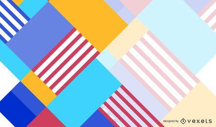 Bunte abstrakte Design-Hintergrund-Vektor-Kunst