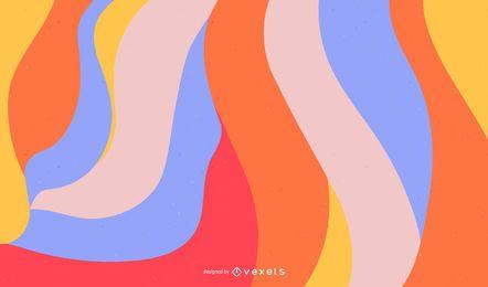 Vetor de fundo abstrato colorido Design grátis