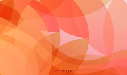 Abstract Waves and Circles Vector Background