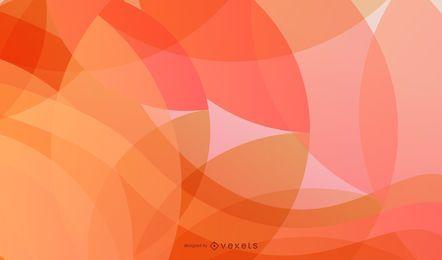 Fondo abstracto del vector de las ondas y de los círculos