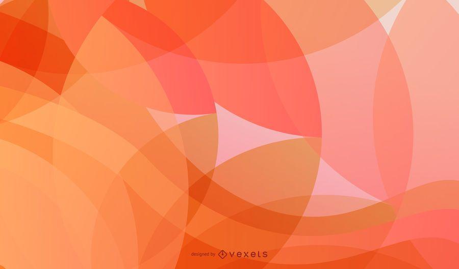 Resumen olas y círculos vector de fondo