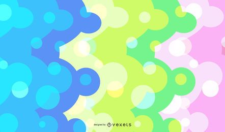 Abstracto colorido puntos Backgrond Vector Graphic