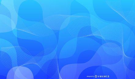 Resumo gráfico de vetor de fundo azul 2