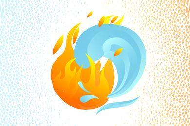 Fogo e água