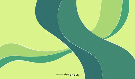 Abstract Design Green Background Vector Graphic
