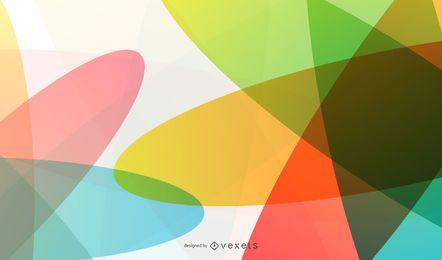 Fundo colorido e abstrato Design