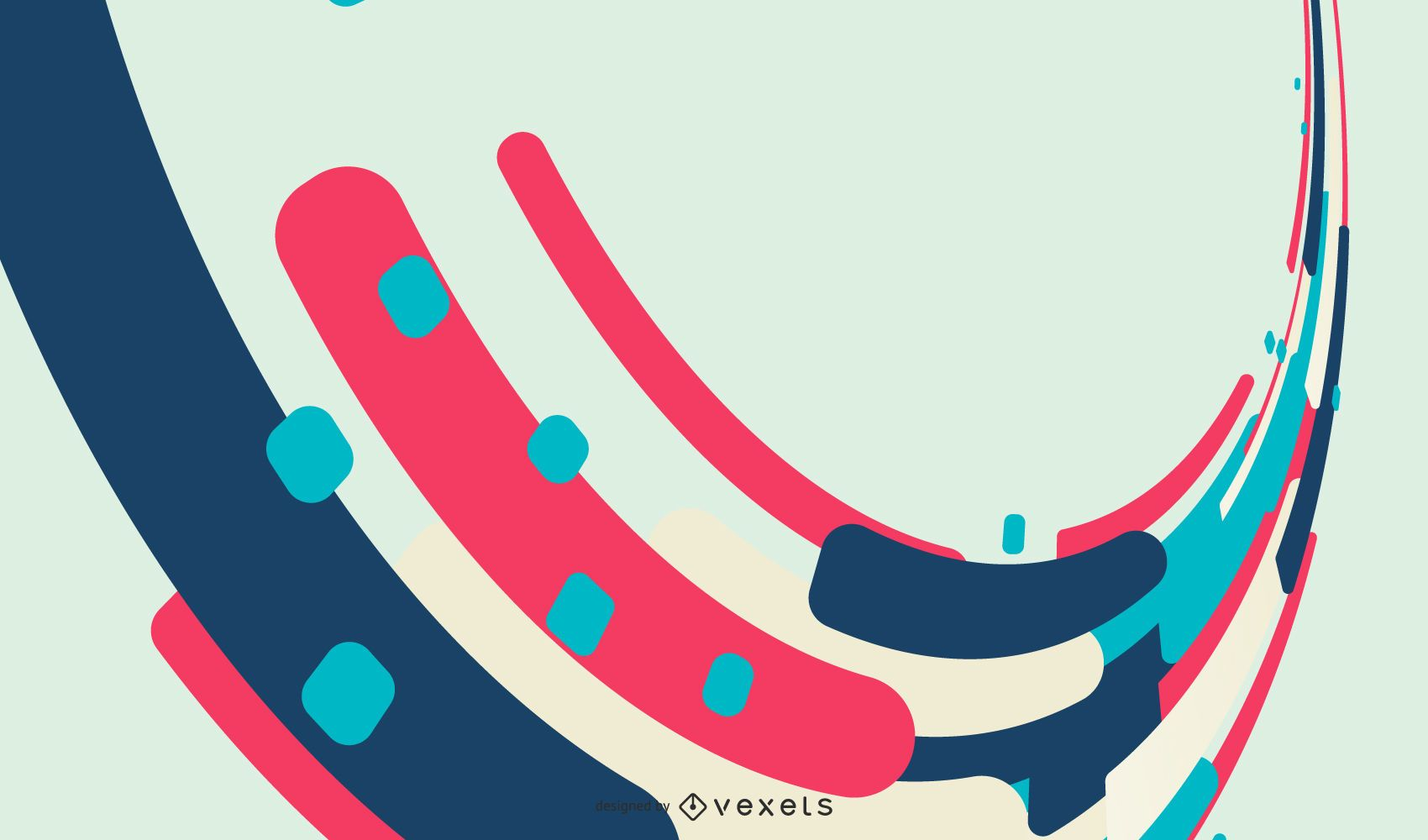 Fantastic Abstract Background Vector Graphic