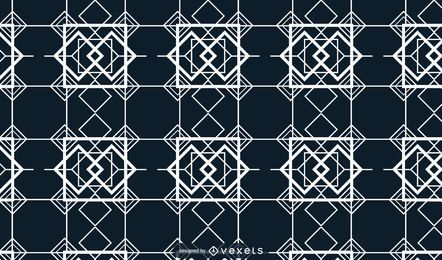 Abstract Grid Square Background