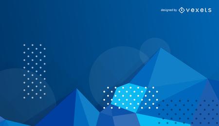Vektor blauer abstrakter Hintergrund