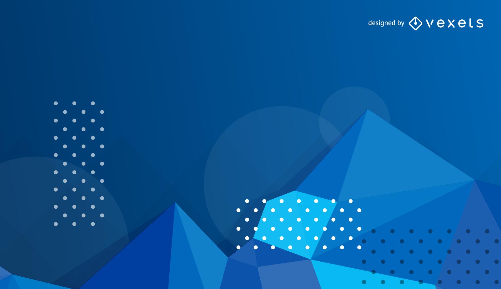 Vektor-blauer abstrakter Hintergrund
