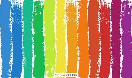 Fondo abstracto del arco iris del color del vector