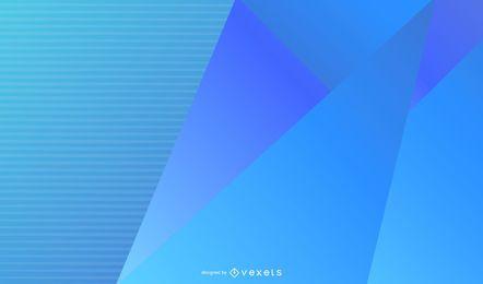 Fundo Azul Abstrato Do Vetor