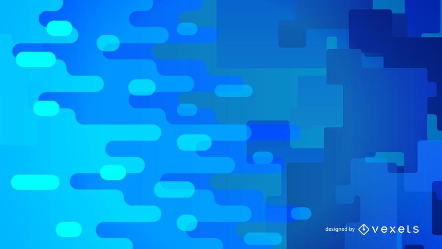 Gráfico de vetor abstrato azul 4