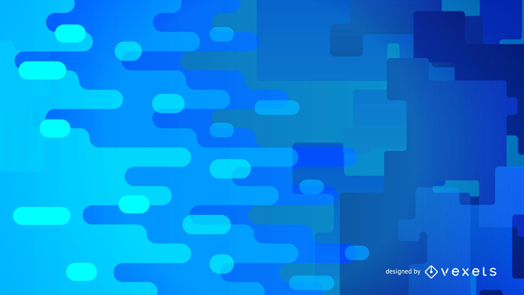 Gráfico De Vector De Fondo Azul Resumen 4