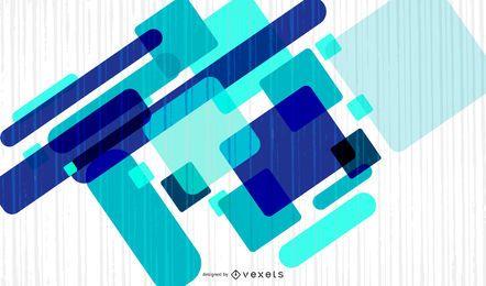 Vector azul abstrato arte-final