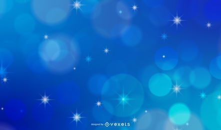 Fondo abstracto de estrellas bokeh