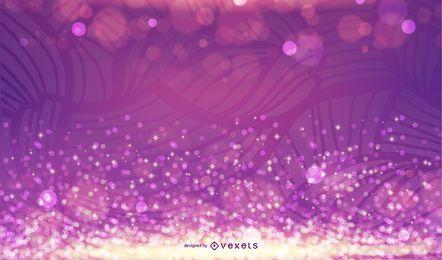 Erstaunlicher abstrakter glühender vektorhintergrund