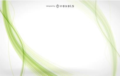 Vector de fondo abstracto verde
