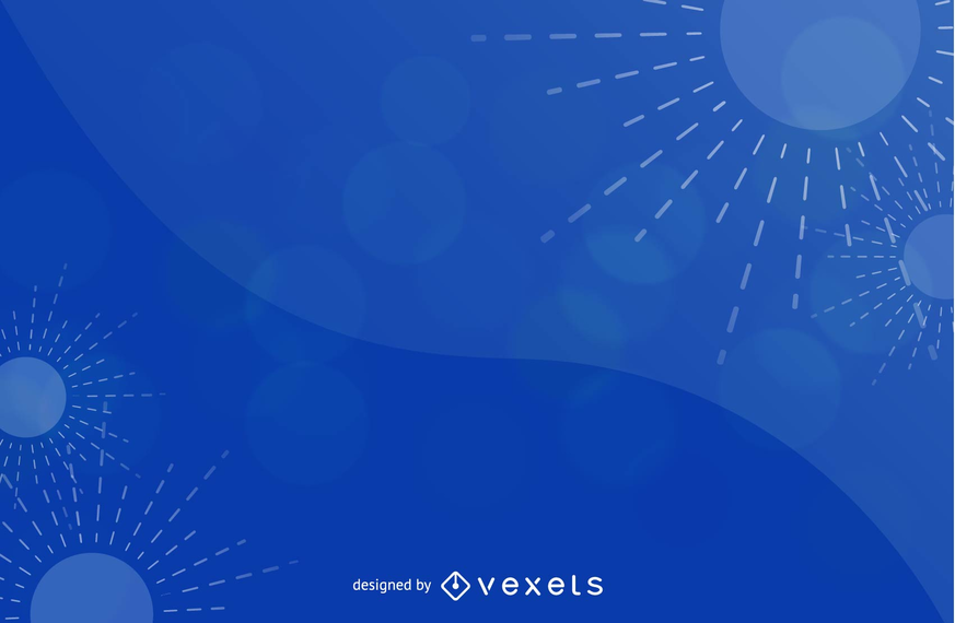 Abstract Blue Background Vector Graphic 5