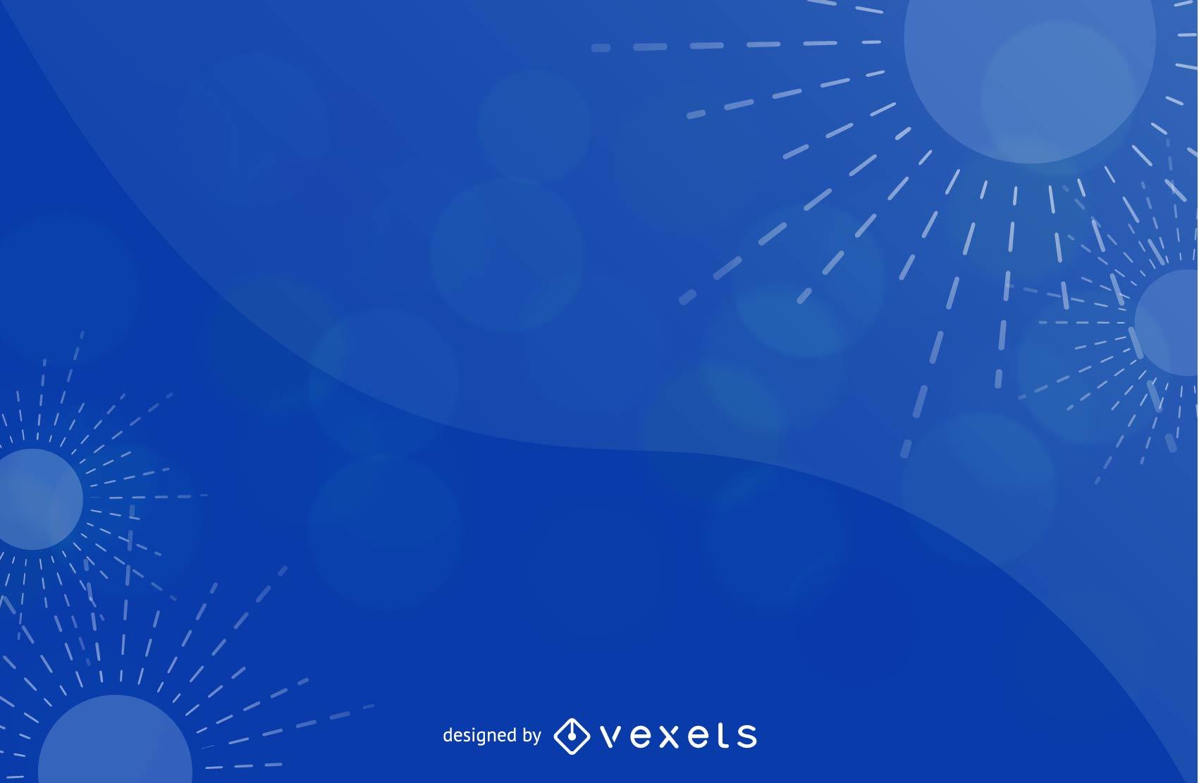 Resumen de fondo azul gráfico vectorial 5